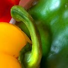 Peppers 2 by Orla Cahill Photography