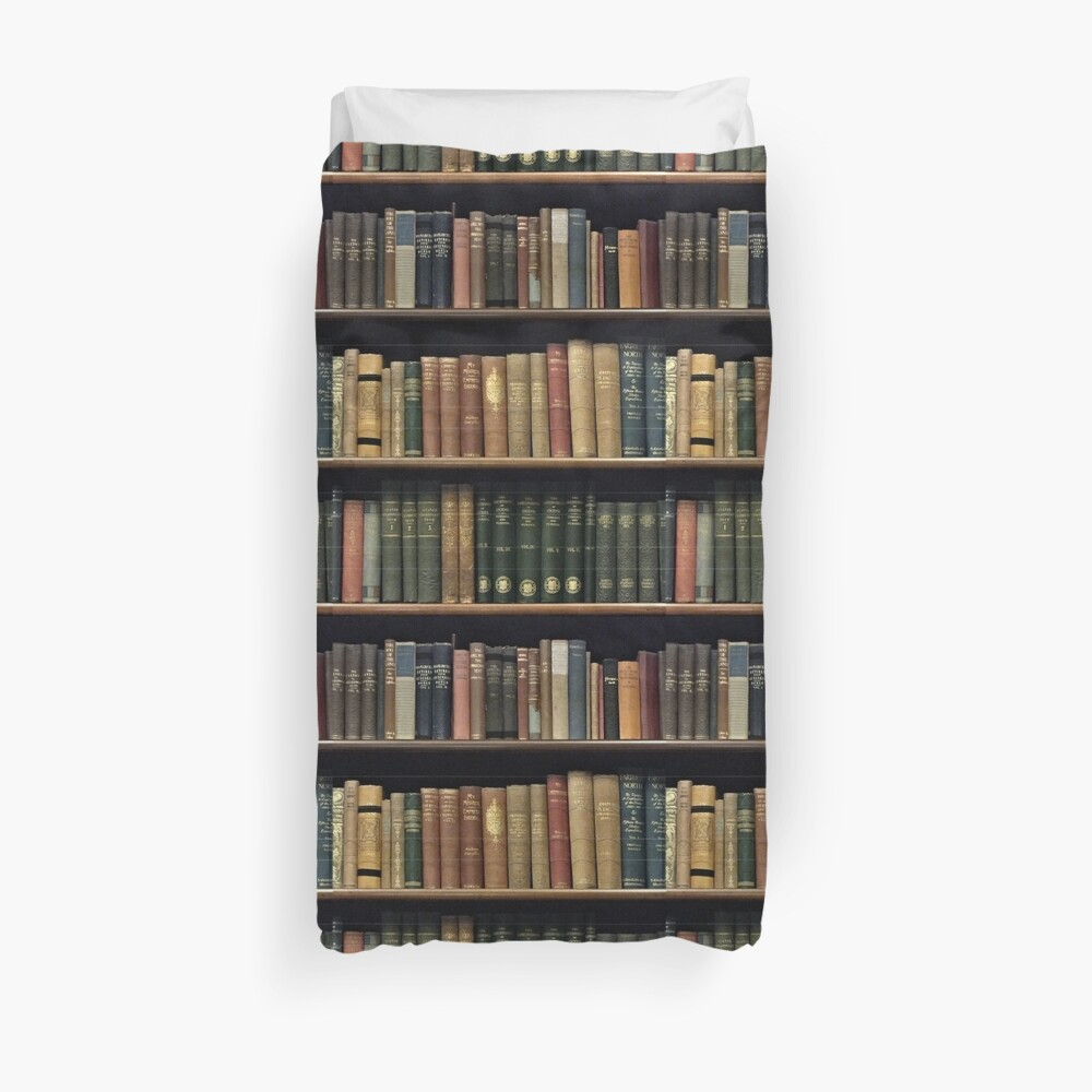 Endless Library (pattern) Duvet Cover