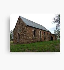 Old St. Malachys Church, Gooloogong (NSW) Canvas Print