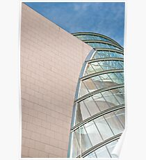 Architectural Abstract Poster