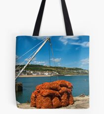Catch Of The Day ~ Lyme Regis Harbour Tote Bag