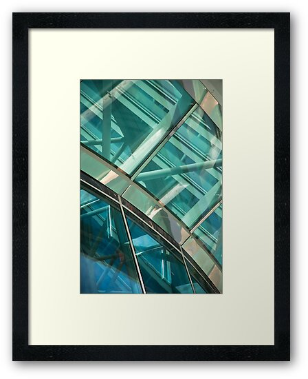 Abstract Window Detail by Orla Cahill Photography