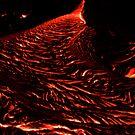 Kilauea Volcano Lava Flow, Big Island, Hawaii by Michael Irrera