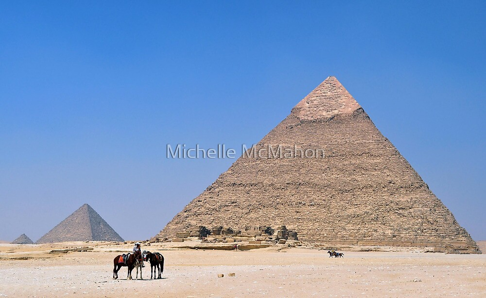 pyramids.. by Michelle McMahon