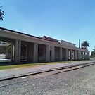The Santa Fe Depot In Redlands by Bearie23