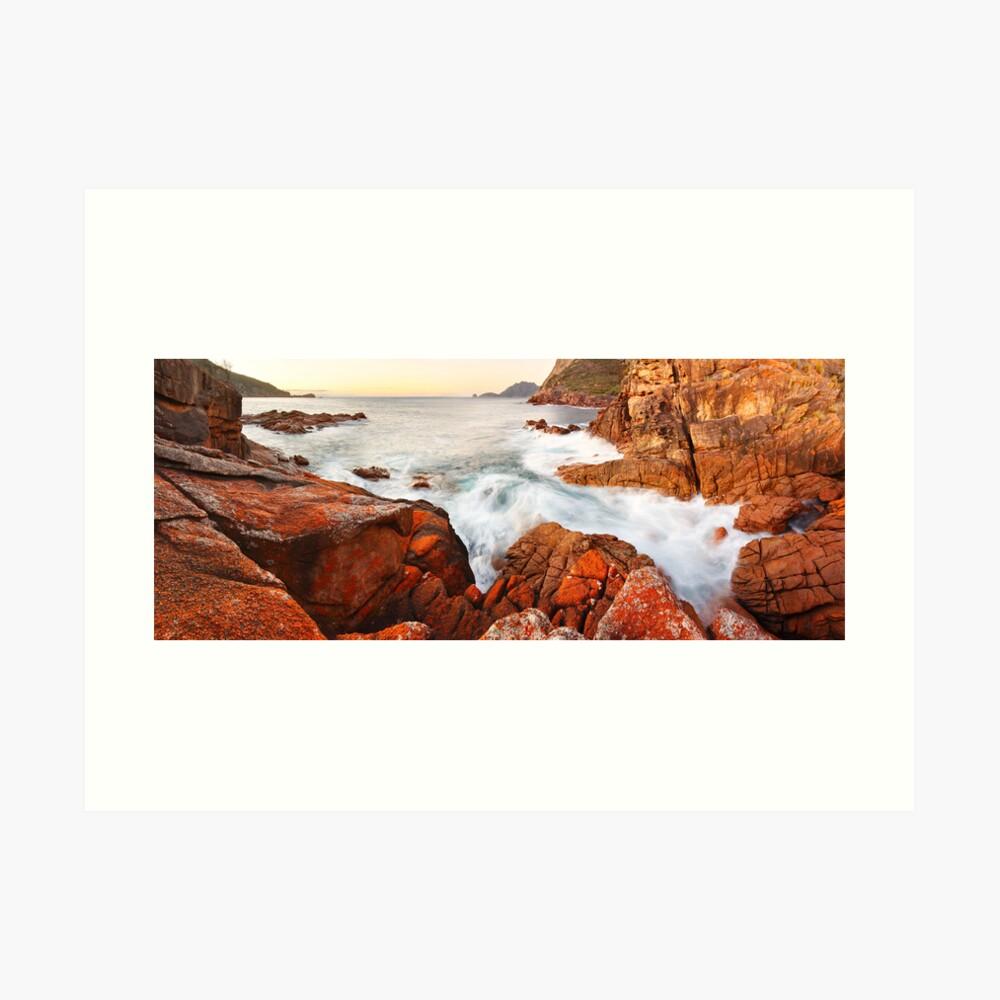 Sleepy Bay Sunrise, Freycinet National Park, Australia Art Print