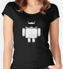 British Racing Droid Women's Fitted Scoop T-Shirt