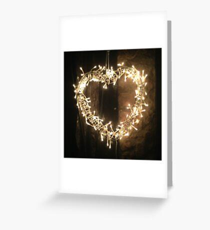 Light heart Greeting Card
