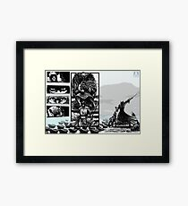 PART NINE A - The Queen's Bishop Sends in the Artillery... Framed Print