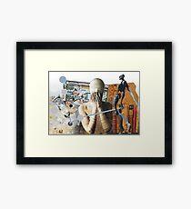 A dadaist wonderment Framed Print