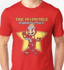 The Invincible Iron Plumber (Variant) Unisex T-Shirt