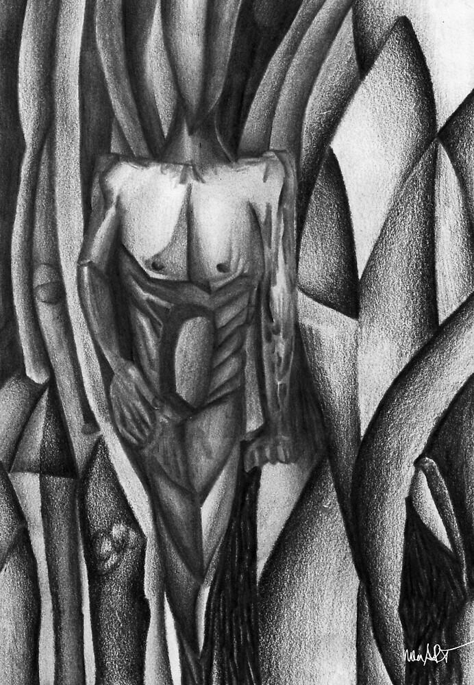 OHNE TITEL 05/06/1995 | Classical Art Mixed Media / Klassiche Kunst diverse Techniken von nenART-Official