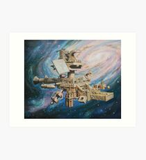 Celestial Voyagers Art Print