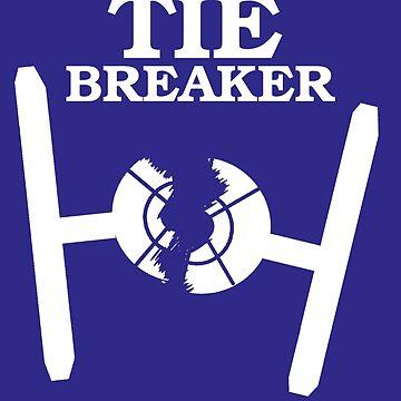TIE BREAKER white by haegiFRQ