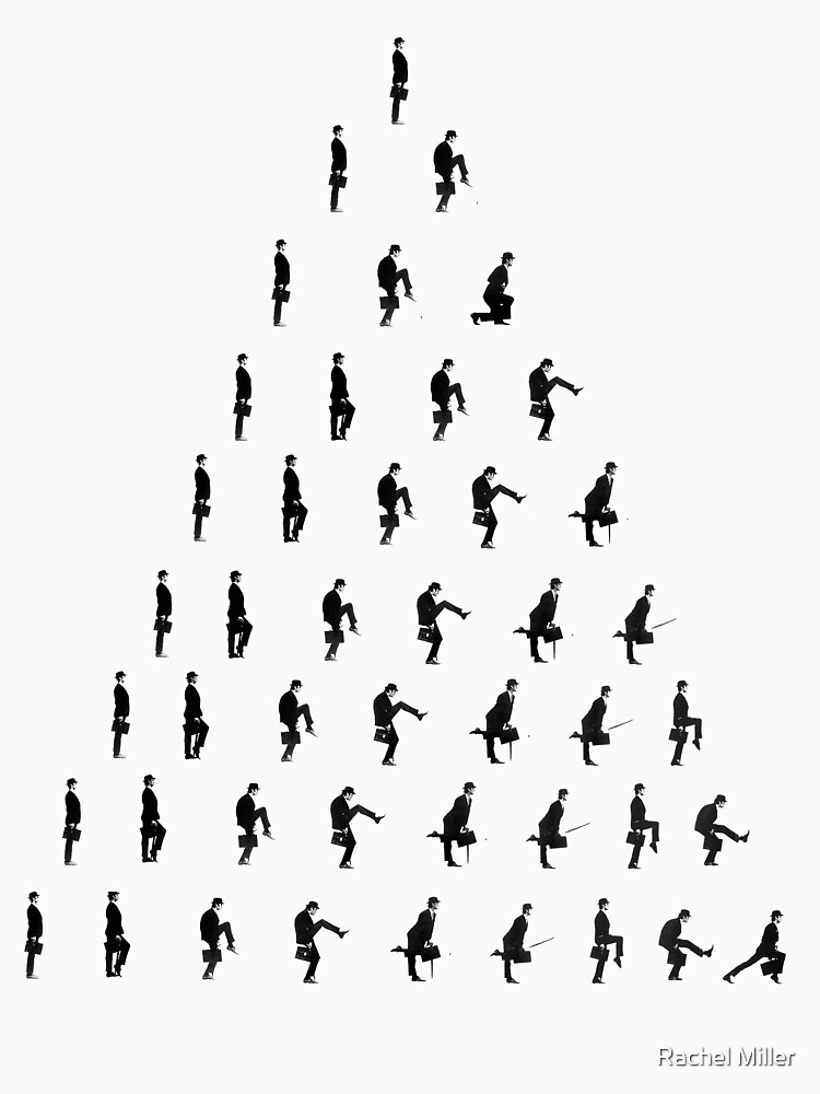 Silly Walk Pyramid by JrGhostbuster