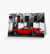 Red Door vs Turbo Greeting Card