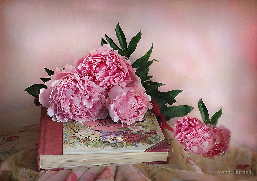 Peonies ! by Irene  Burdell