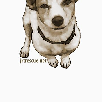 Willia Jack Russell Tee Shirt Series 3 by JRTrescue