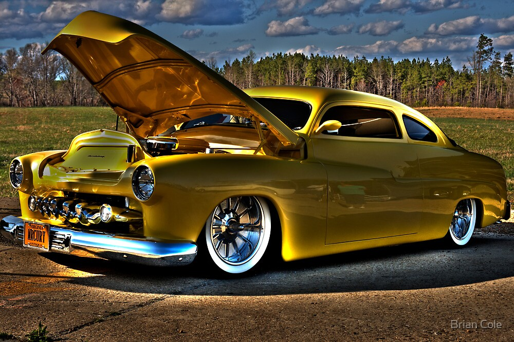 MERCURY BLUES-HDR by Brian Cole