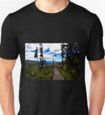 View of Giron Valley from Portete, Ecuador T-Shirt