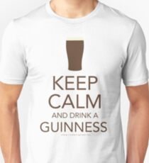 Keep Calm and Drink a Guinness T-Shirt