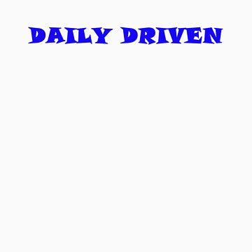 Daily Driven - Blue by ShowStuffUK