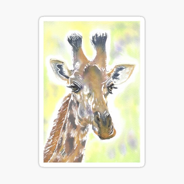 George the Giraffe  Sticker