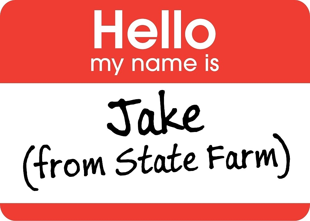 Jake from State Farm by Marc Bublitz