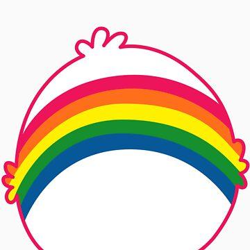 Rainbow CareBear by Grishnnakh