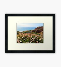 Water Over The Horizon Framed Print