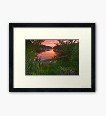 Drakespool- Cork ireland Framed Print