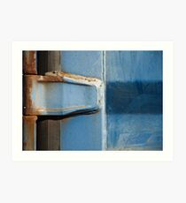Rusty Hinge Art Print