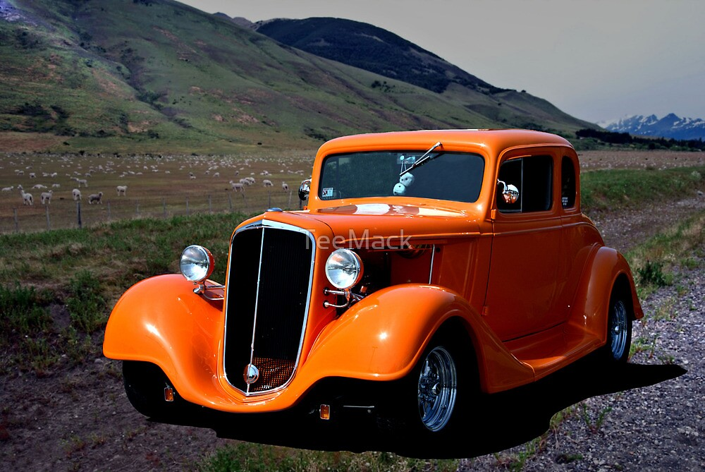 1934 Chevrolet Custom Hot Rod Coupe by TeeMack