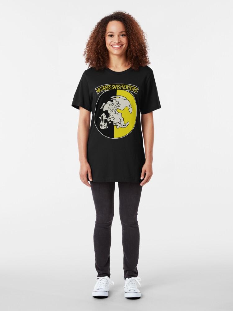 Alternative Ansicht von Militaires Sans Frontières Slim Fit T-Shirt