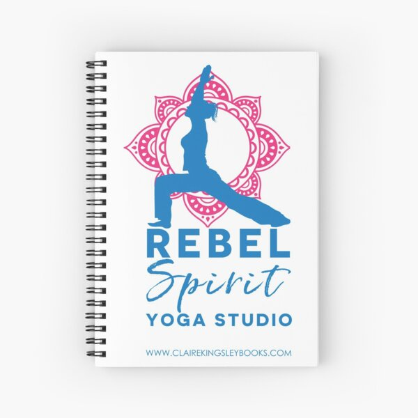 Rebel Spirit Yoga Studio Spiral Notebook