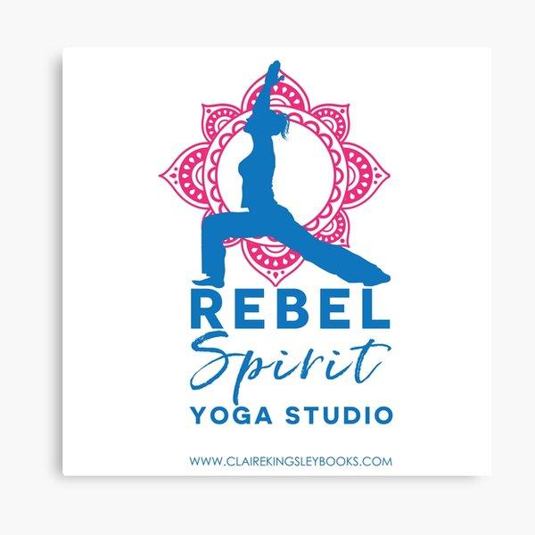 Rebel Spirit Yoga Studio Canvas Print