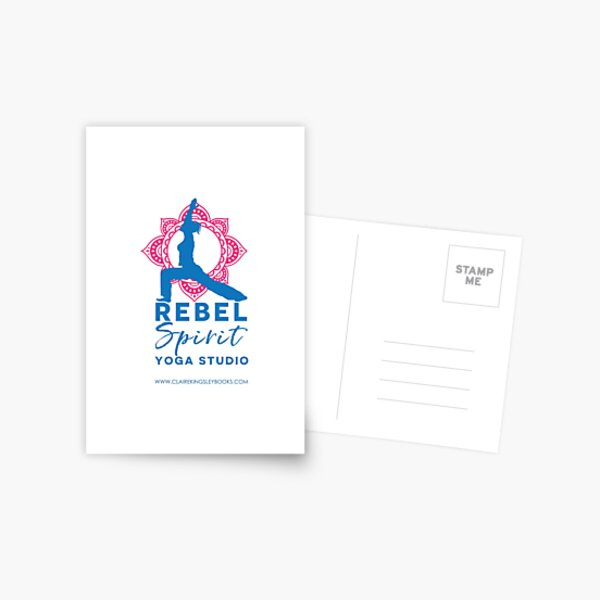 Rebel Spirit Yoga Studio Postcard