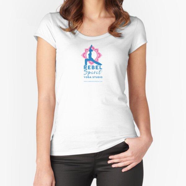 Rebel Spirit Yoga Studio Fitted Scoop T-Shirt