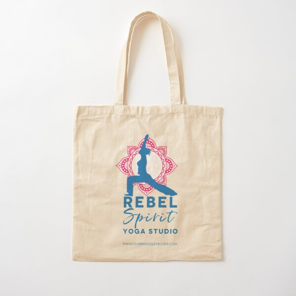 Rebel Spirit Yoga Studio Cotton Tote Bag