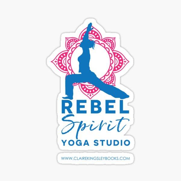 Rebel Spirit Yoga Studio Sticker