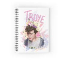 Troye Boy Sivan Spiral Notebook