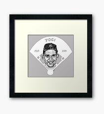 Yogi Berra Baseball Star 1925-2015 Framed Print