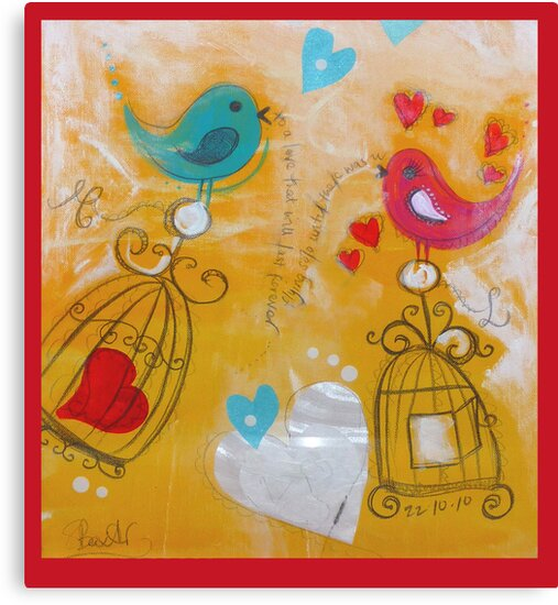 Lovebirds by Shona Baxter