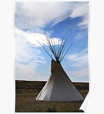 Blackfoot Teepee Poster