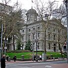 Pioneer Courthouse - Portland, Oregon by Jack McCabe