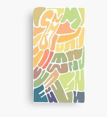 Random shapes Canvas Print