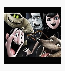 the characters of hotel transylvania 2 Photographic Print