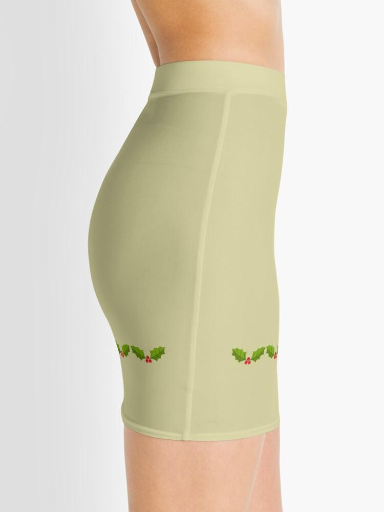 Alternate view of HOLLY Mini Pencil Skirt Mini Skirt