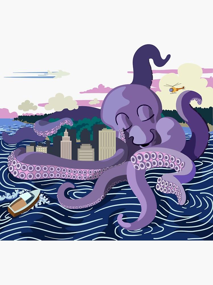 Monster Love Octopus by a-roderick