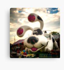 Doggy Carnival Ride Canvas Print